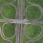 Autobahnkreuz im Eigenbau