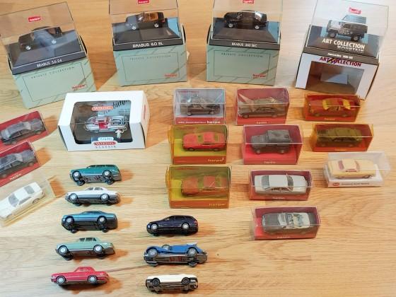 Diverse H0 Mercedes Modelle aus den 80ern und 90ern
