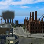 Alter Hafen von Hallig Rubburg