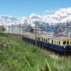 [TpF1] ÖBB 4041 and the spring in the mountains