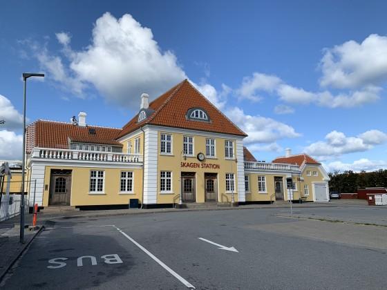 Nordjyske Jernbaner - Skagen Station