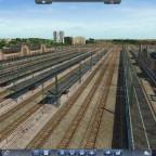 improvisierter Bahnhof Dortmund