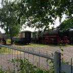 Im Bahnpark Augsburg