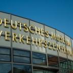 Erster Programmpunkt am Samstag: Deutsches Museum - Verkehrszentrum