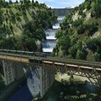 Neue und alte Brücke
