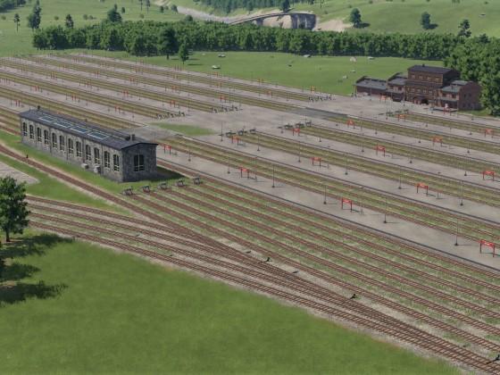Güterbahnhof Rohbau