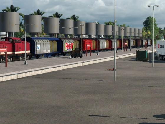 Die Logistik läuft..