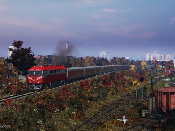 [TpF1] Old railway yard in Lithuania