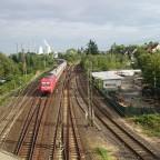 Hanau - Einfahrt Hbf