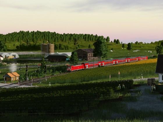 Auch der Regionalverkehr spielt eine große Rolle auf der Strecke durch das Leibachtal