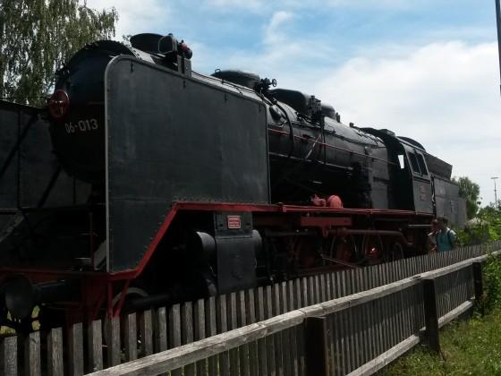 BR06 im Bahnpark Augsburg