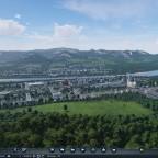 2 Städte am Fluss
