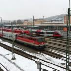 Hbf Passau - Blick auf die Nebengleise
