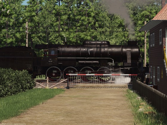 [TpF1] ​ÖBB 33 near the crossing post