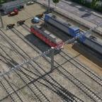 nicht zugeordnete Abstellgleise an der Hauptstrecke im Norden von Freifeld