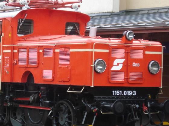 Historsche Rangierlok 1161 der ÖBB