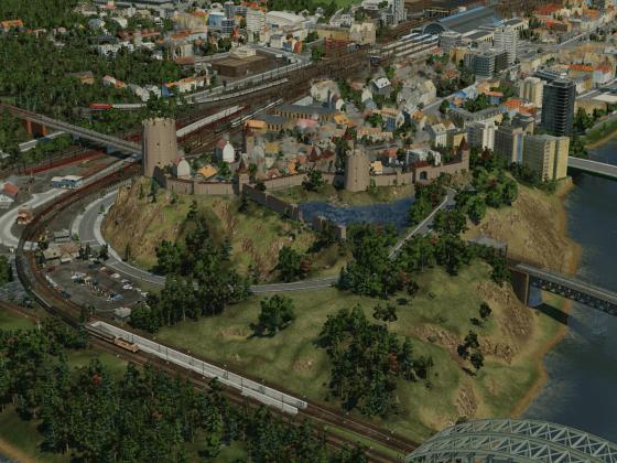 Bergstätten ist nun spontan zur Hauptstadt meiner neuen Karte ernannt/erbaut worden :)