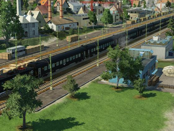 Swedish Regional Train