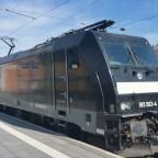 BR 185 563-4 | Güterzug Durchfahrt Passauer Hauptbahnhof