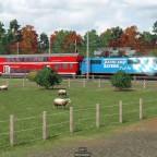 Bahnland Bayern 111 unterwegs