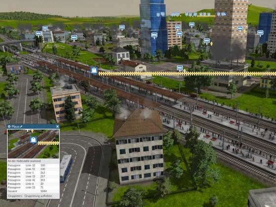 Bahnhof Passagiere 1000+