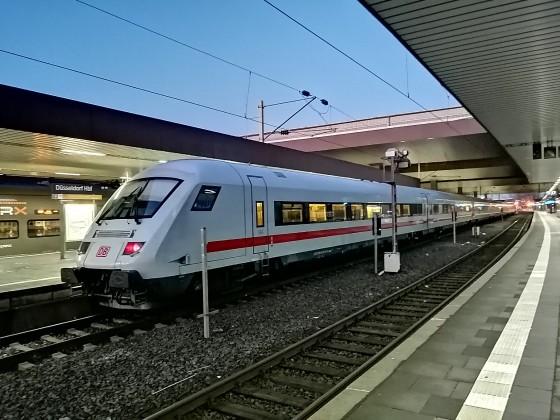 Metropolitan als ICE in Düsseldorf.