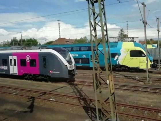 Enno und Westfalenbahn in Braunschweig