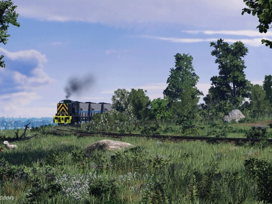 [TpF1] Class 07 with the coal freight haul