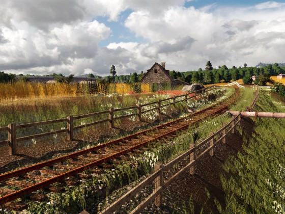 Explore the abandoned railway ~