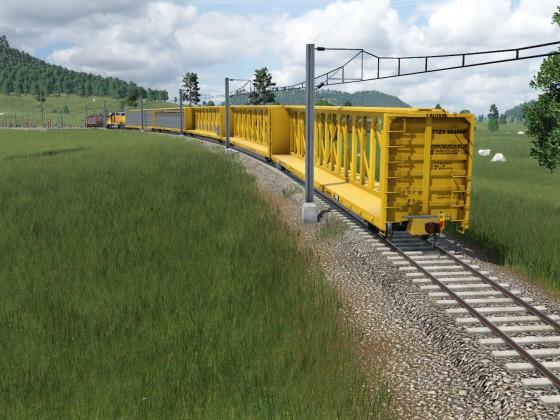 Centerbeam Railcars