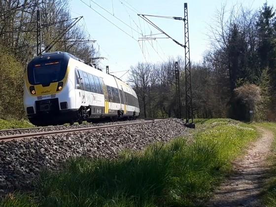 Trainspotting zwischen Nürtingen und Bempflingen