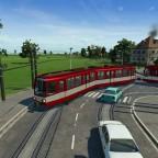 Einer wunderschöne Straßenbahn