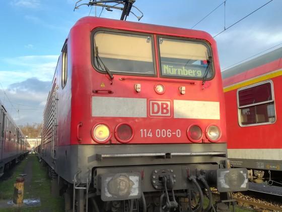 RE nach Nürnberg