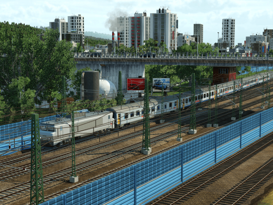 Départ d'un TER Intercité Midi-Pyrénées