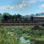 [TpF1] LB loco crossing the small stream