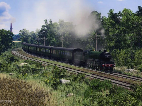 [TpF1] LNER Class B17 in the countryside