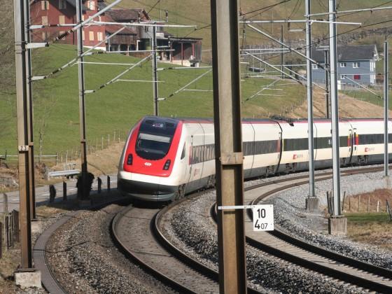SBB Rabde 500 als ICN nach Lugano