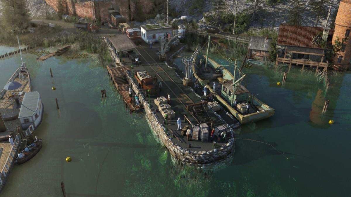 Am alten Pier