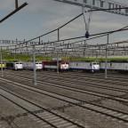 Testen aller Klasse 269 Lokomotiven