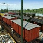 Güterumschlagplatz und Ausbesserungswerk