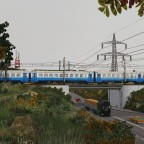[TpF1] ER2T moving by the old power plant