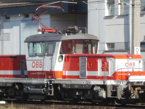 ÖBB 1163 011-0 in Salzburg - für mich aktuell eine der schönsten Loks.