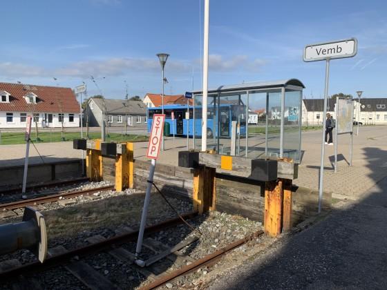 Midtjyske Jernbaner - Lemvig Station