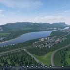Städte am Fluss