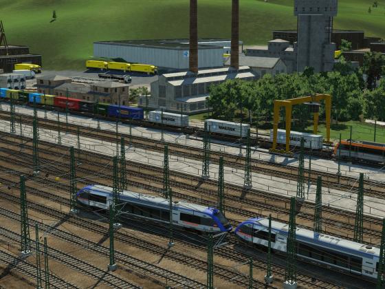 Gare de triage de Toulouse