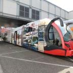 Durmaray neue Tram aufgenommen auf der Inno Trans 2018