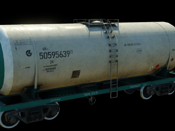 Tank car repaint for LG