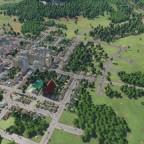 Pfarrkirche mit Stadtteich