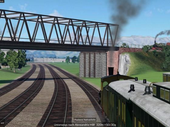 Bahndamm in der Po-Ebene_4