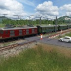 Erster Personen E-Zug RE 4/4I
